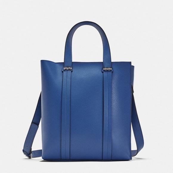 Zara Midi shopper tote shoulder bag with strap 2742af1e192ba